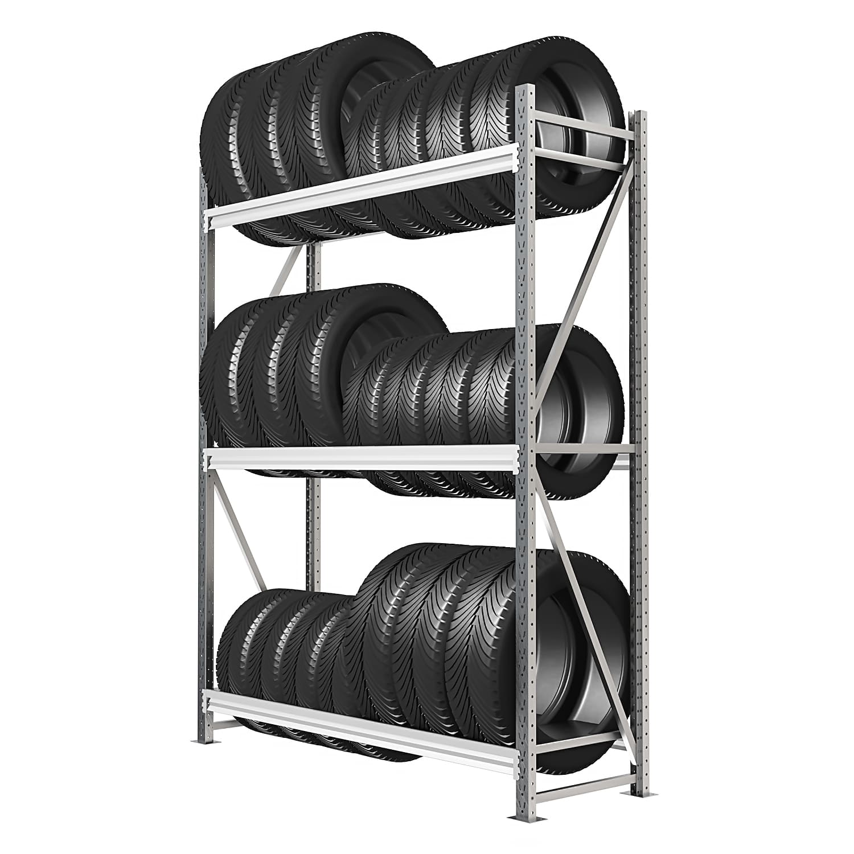 Стеллаж 3 яруса до 400 кг 2500х1500х500 мм