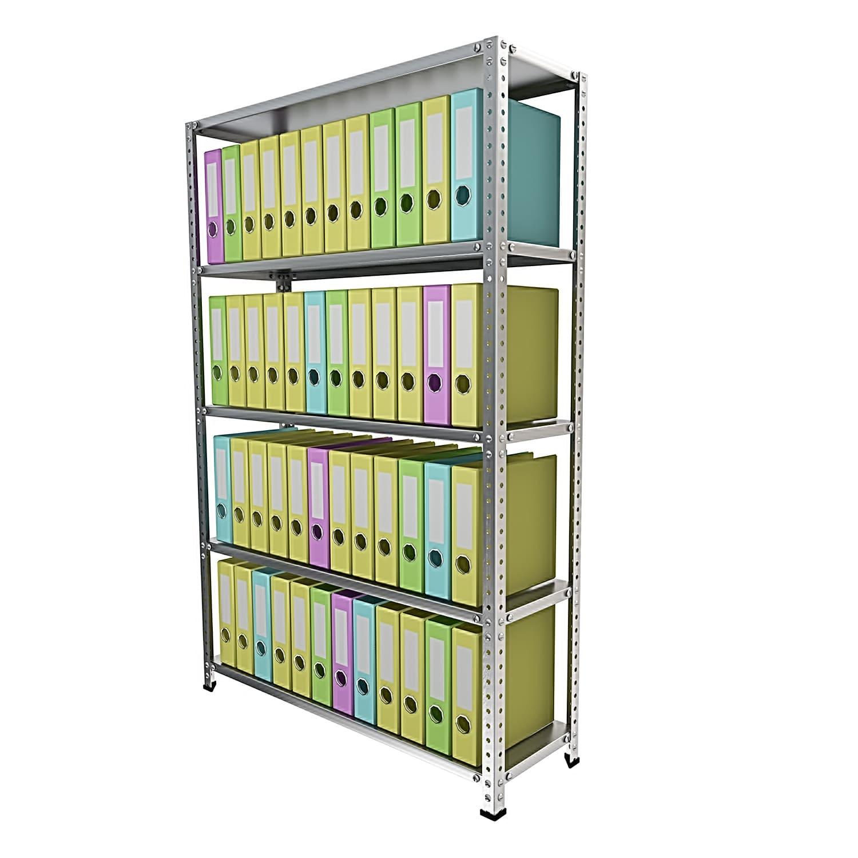 Стеллаж 5 полок до 120 кг 2500х1000х300 мм для архивных папок
