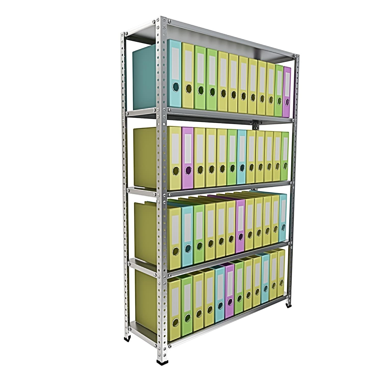 Стеллаж 5 полок до 120 кг 1900х1200х500 мм для хранения